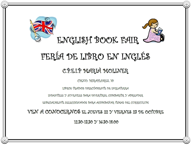 ENGLISH BOOK FAIR